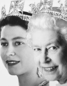 Queen Elizabeth II (then and now)