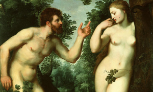 Adam and Eve (detail) by Peter Paul Rubens